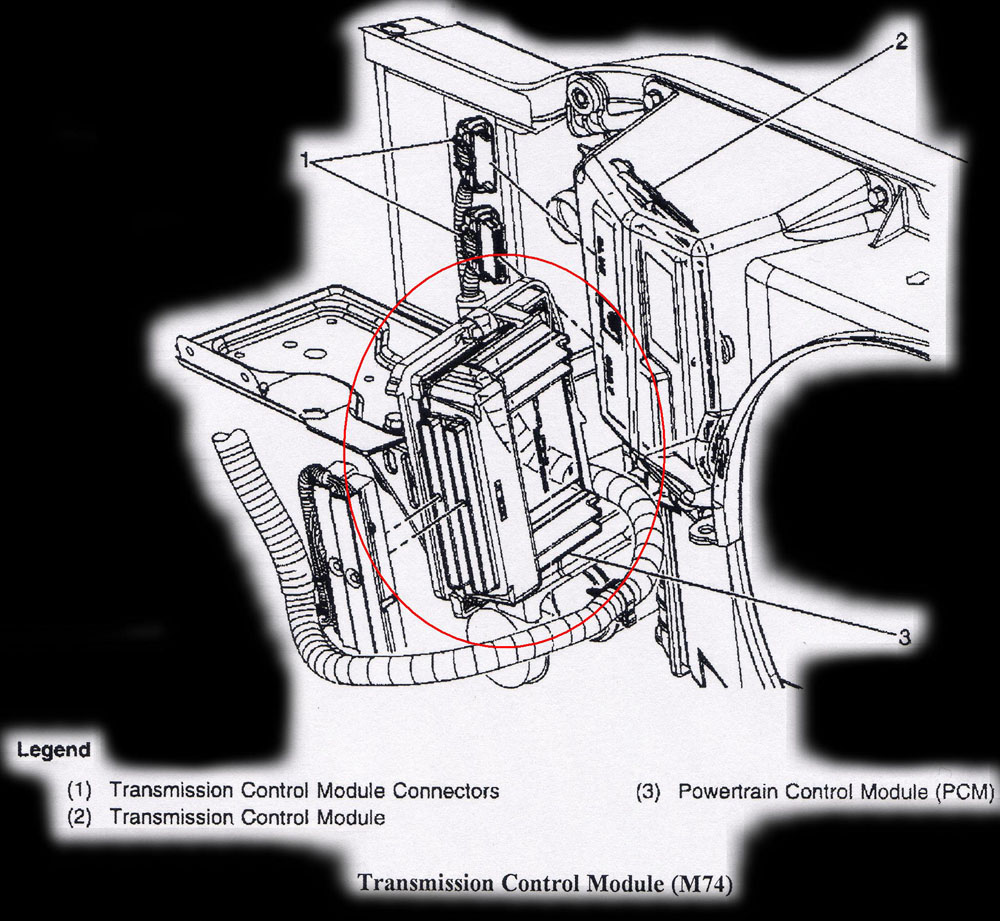 Computer Location Diagrams 2004 Corvette Engine Wiring