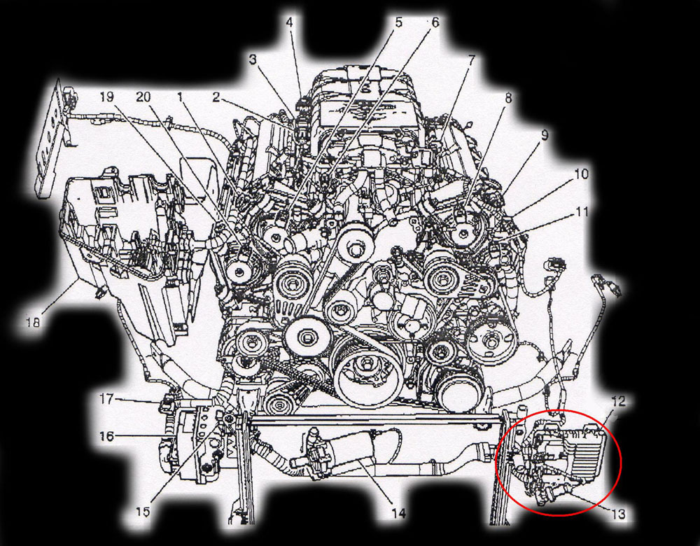 Cadillac on 1997 Pontiac Firebird 3 8l Engine