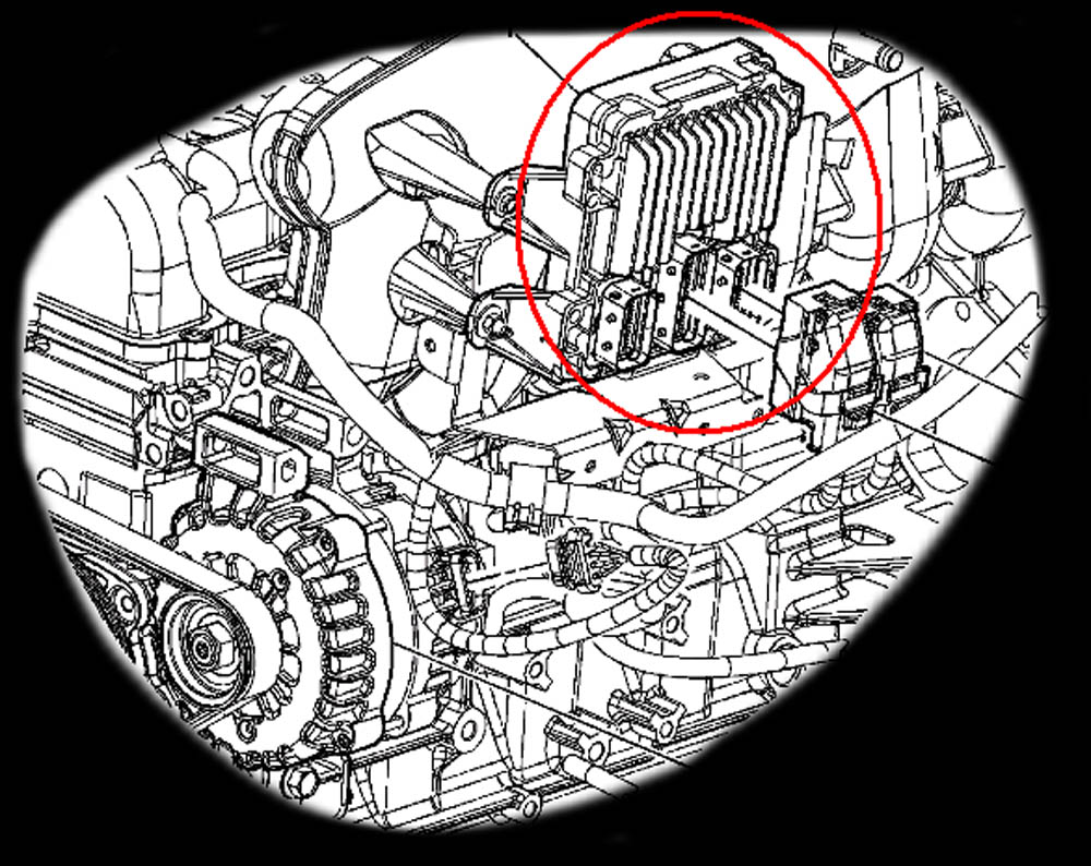 Computer Location Diagrams 1998 Chevy Cheyenne V6 Vortec Engine Diagram